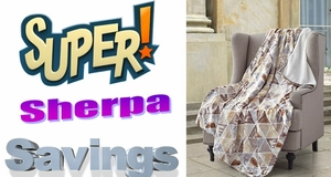 Super Sherpa Savings ~ $9 with any $35+ purchase