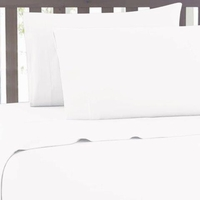 Super Soft 2100 Series White Sheet Set