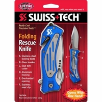 Swiss Tech Folding Resuce Knife