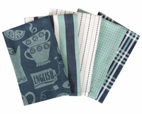 Tea Time 5 Piece Kitchen Towel Set