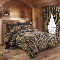 The Woods Black Comforter