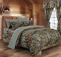 The Woods Gray Comforter