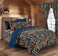 The Woods Navy Comforter