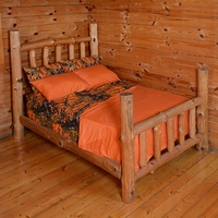 The Woods Orange Sheet Set