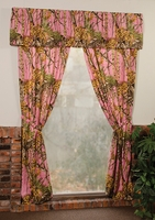 The Woods Pink Curtains