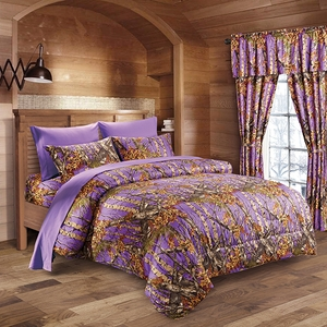 The Woods Purple Comforter