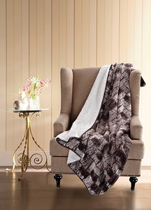 Timber Patch Sherpa Throw