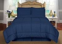 Vine Bed N  Bag - Navy
