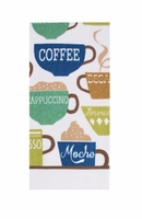 Wake Up Coffee  Kitchen Towel