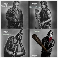Walking Dead Blankets ~Pick Two & SAVE ~