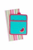 Watermelon Embroidered Gift Set