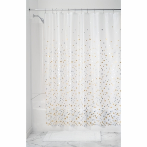 Waterproof Shower Curtain - Confetti