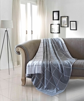 Wyatt Luxury Cotton Throw Blanket