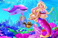 arabic cartoon dvd  barbie A MERMAID TALE part 1