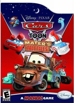 Arabic cartoon dvd CARS TOON MATER'S TALL TALES ENGLISH SUBTITLES  egyptian dialect