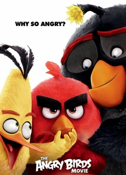 arabic cartoon dvd for kids ANGRY BIRDS MOVIE 2016 proper arabic (fus-ha)   فيلم الطيور الغاضبه