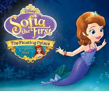 Arabic cartoon dvd for kids formal arabic Sofia and the floating palace صوفيا