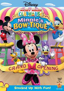 Arabic cartoon dvd MINNIES BOW-TIQUE ENGLISH SUBTITLES   proper arabic (fus-ha)