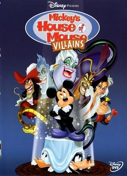 Arabic cartoon dvd proper arabic Mickey's House of Mouse Villains ميكى ماوس