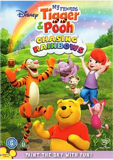 arabic cartoon dvd TIGGER AND POOH CHASING THE RAINBOW  Egyptian dialect