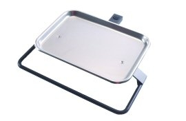 DCI Tray, Folding Rigid Arm Mounted, Gray