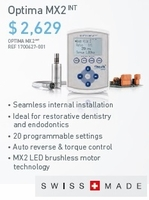 Bien Air Optima  MX2 Int. - Buy 2' Get 1 FREE Classic high speed or low speed handpiece