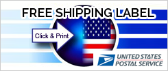 Free Shipping label