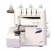 JUKI MO-1000 SERGER  :  Easy Air Threader and Differential Feed : 2-Needle, 2/3/4-Thread Overlock Serger      <p><b><i> <font color=RED> <i > JUST LIKE BABY LOCK- $AVE BUY JUKI !</font></b></i></p>