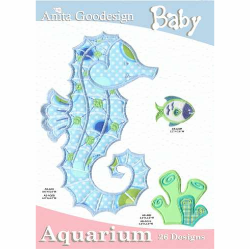 Anita Goodesign Baby Aquarium Embroidery Designs