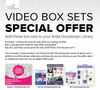 Anita Goodesign's VIDEO BOX SETS SPECIAL OFFER