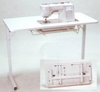 "Arrow 98601"" Gidget l"" Fully Assembled Folding Sewing Table"