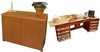"""Arrow 98700 """"Bertha"""" Embroidery Machine Airlift Credenza With Large Opening and Quilting Extension"""