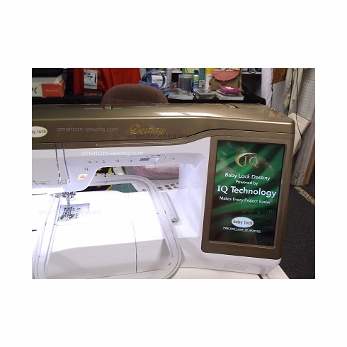 Baby Lock Destiny Sewing-Quilting-Embroidery Machine <p><i><b>Same as Brother Dream Machine</i></b></p>