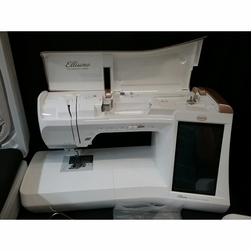 "<b><h3 style=""color:blue; font-size:18px;"">Baby Lock Ellisimo Sewing and Embroidery Machine <p><i><b>Same as Brother Quattro 6000</i></b></p> <b><h3 style=""color:red; font-size:16px;"">Classroom model 50%off</b>"
