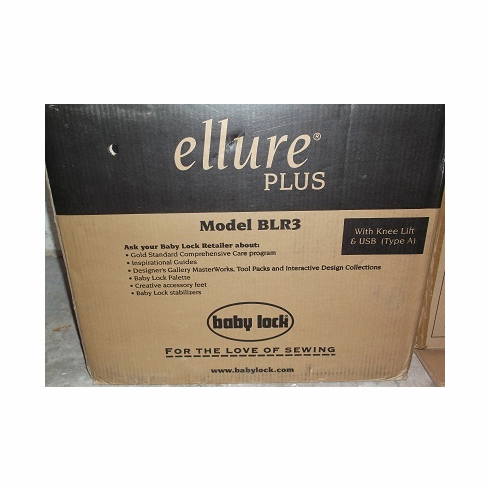 Baby Lock Ellure Plus Embroidery Machine: BLR3