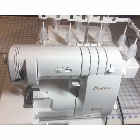 BABY LOCK OVATION SERGER AND COVERSTITCH BEST DEAL Classy Ovation Sewing Machine
