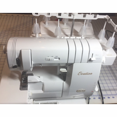 <b>Baby Lock OVATION 8-Thread  Serger and Coverstitch Machine Ovation-BLES8<b><p><b><i><font color=red><i>CALL NOW FOR SPECIAL PRICING 1-800-522-8938</font></b></i></p>