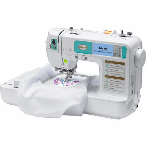 Baby Lock Sofia 40 BL40A40 Sewing And Embroidery Machine ON SALE Inspiration Baby Lock Sewing Machine Dealers Near Me