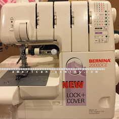 Bernina 2000 DCE 2/3/4 Thread Overlock and Coverstitch Serger Machine