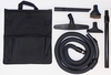 Central Vacuum System Deluxe Garage Accessory Hose Kit 30'