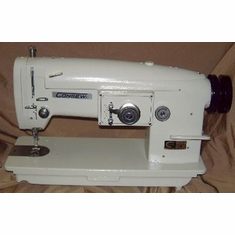 Consew 199R 2A 3 point 2 step Zig Zag & Straight stitch Including Stand and Clutch Motor