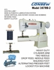 Consew Industrial Cylinder Arm Sewing Machines