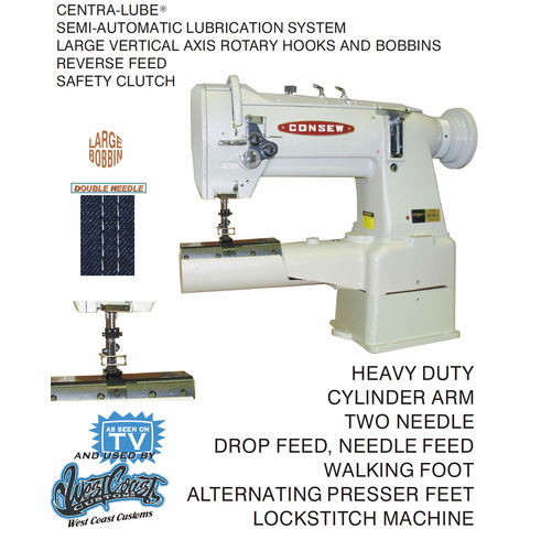 Consew Model 40RB40 40RB40 WwwAmericanSewing World's Extraordinary Industrial Sewing Machine Safety