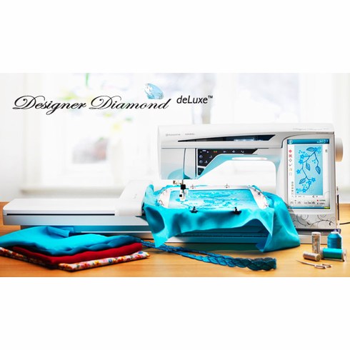 DESIGNER DIAMOND deLuxe � sewing and embroidery machine