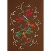 Dragonflies - Embroidery and Crystal Combo Pack #SCROL10