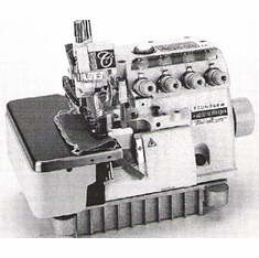 Econosew MO-3316S-FF6-50H High Speed Safety Stitch Machine with Tractor Foot