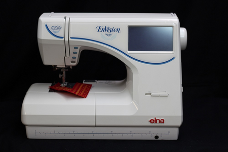 Elna EnVision CE20 Sewing and Embroidery Machine MADE IN JAPAN+ EXTRAS