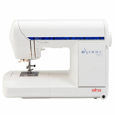 Elna eXperience 660 Sewing and Quilting Machine  - SWISS DESIGN  <p><b><i><font color=RED><i>ELNA BLACK FRIDAY SALE GOING ON NOW!</font></b></i></p> <B>LOWEST PRICE GUARANTEED 800-522-8938!</B>