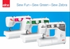 Elna Ultimate Basic Sewing Machine <p><b>Sew Fun ~ Sew Green ~ Sew Zebra </b></p>