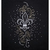 Fleur-de-lis -Embroidery and Crystal Combo Pack #970515